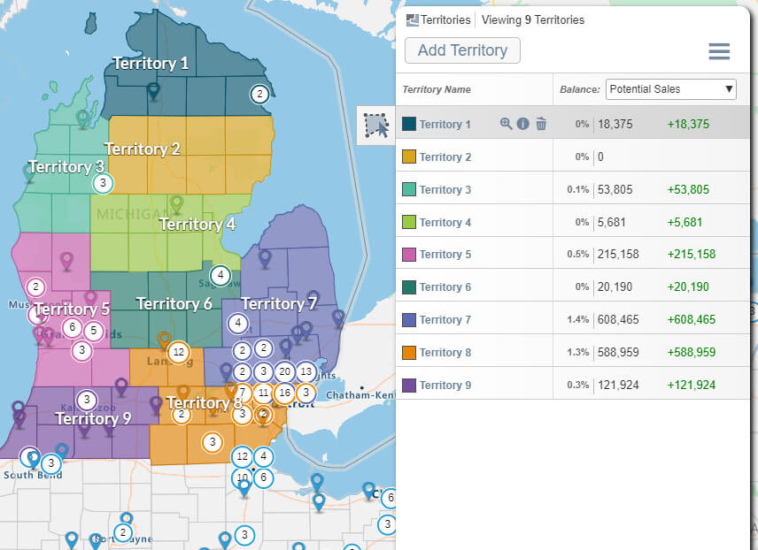 Michigan territory
