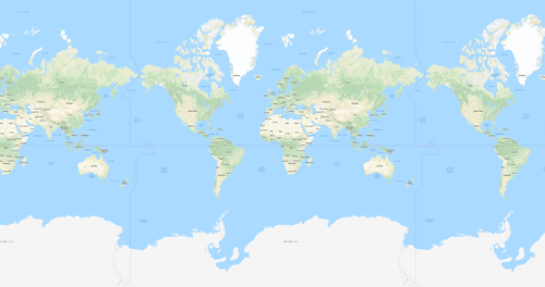 Mercator projection featured image