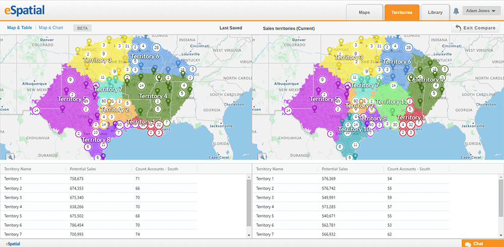 Territory optimization can speed up strategic planning