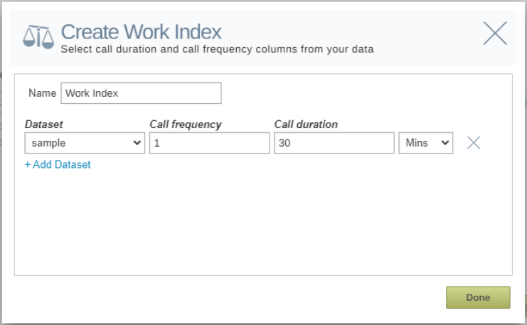 Align and optimize your territories by work index