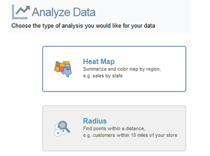 Mapping analytics