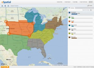 Interactive Mapping Software map