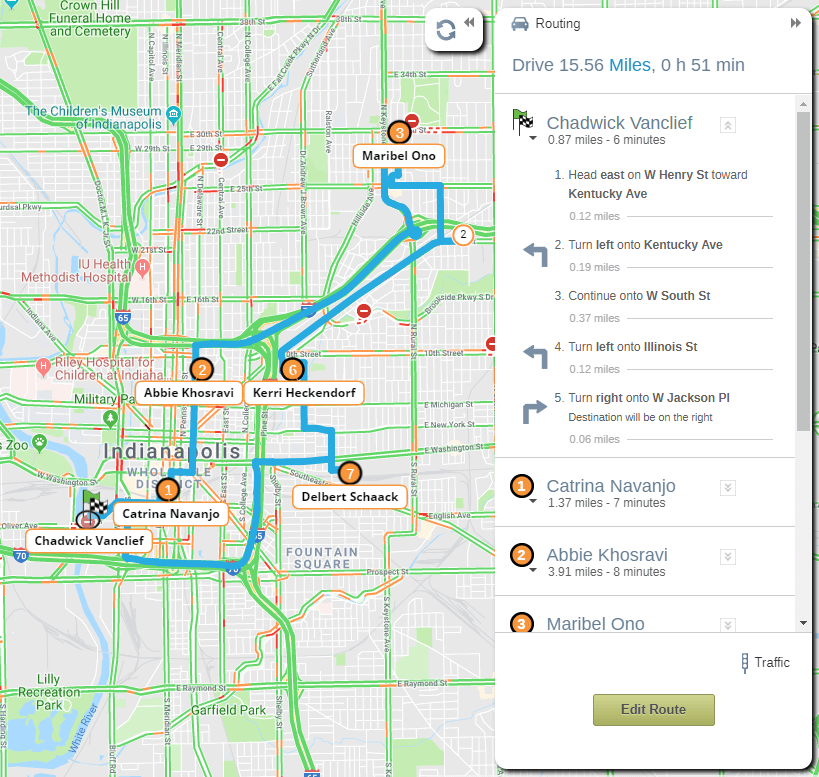 Customize Your Route