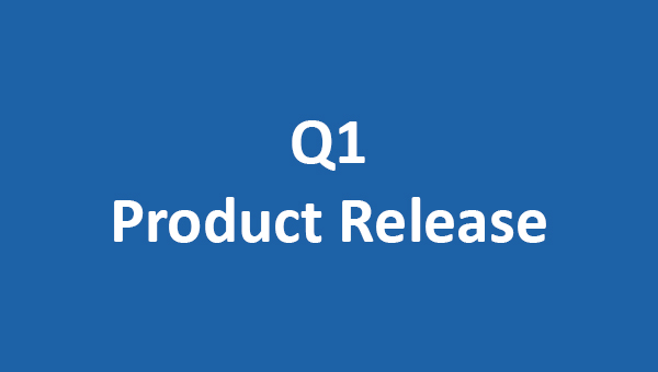 Q1 product release