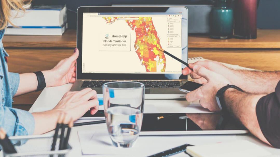 Evaluating demographics in sales territories