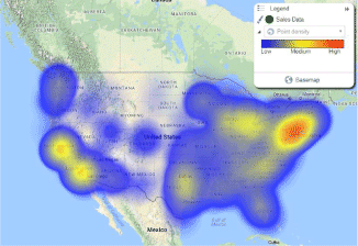 Hot Spot Heat Maps